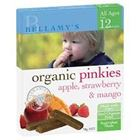 Picture of BELLAMY'S ORGANIC PINKIES APPLE, STRAWBERRY & MANGO 90G