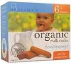 Picture of BELLAMY'S ORGANIC RUSKS  TOOTHIEPEGS 100G
