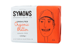 Picture of SYMONS ORGANIC UNSALTED BUTTER 250G