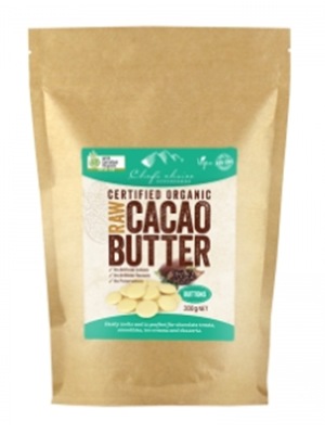 Picture of CHEF'S CHOICE CACAO BUTTER BUTTONS 300G
