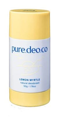 Picture of PURE DEO CO LEMON MYRTLE NATURAL DEODORANT 50G